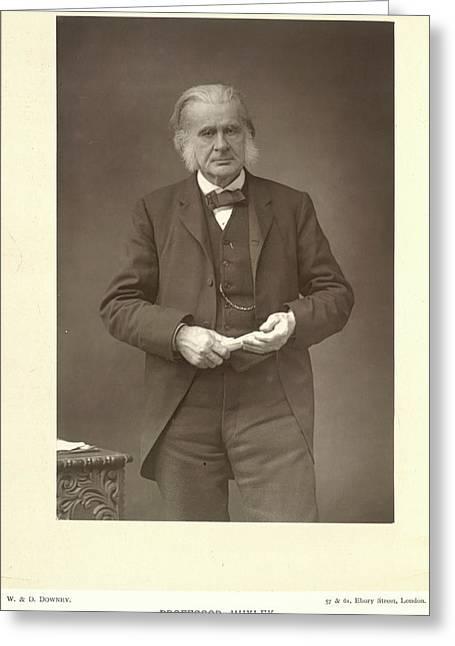 Professor Huxley Greeting Card by British Library
