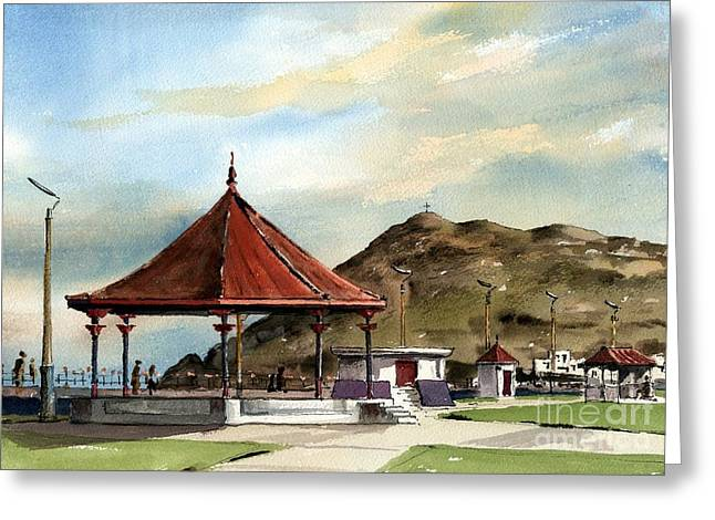Prom Bandstand Bray Wicklow Greeting Card