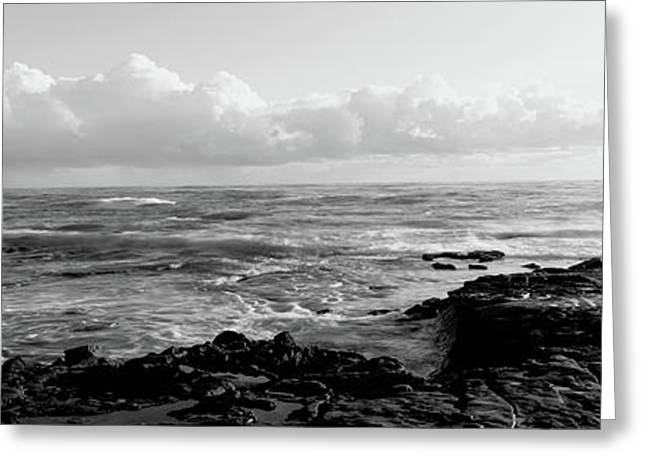 Promontory La Jolla Ca Greeting Card by Panoramic Images