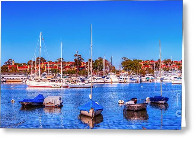 Greeting Card featuring the photograph Promontory Point - Newport Beach by Jim Carrell