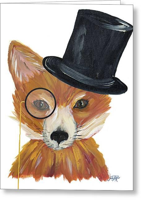 Proper Animals IIi Greeting Card