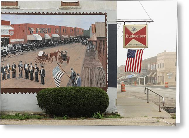 Prophetstown Greeting Card by Christian Heeb