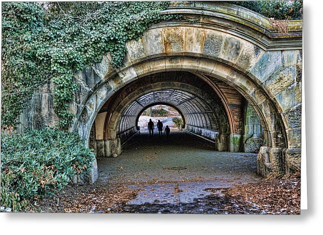 Prospect Park Passage - Brooklyn Greeting Card