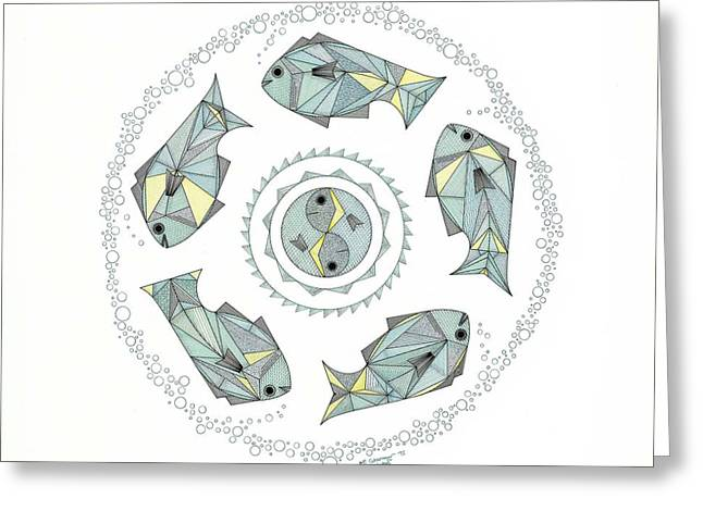 Protection Greeting Card by Pamela Schiermeyer