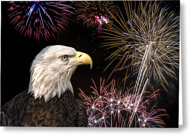 Proud And Free 6  Greeting Card