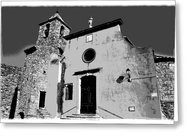 Provencal Church  Greeting Card by Dany Lison