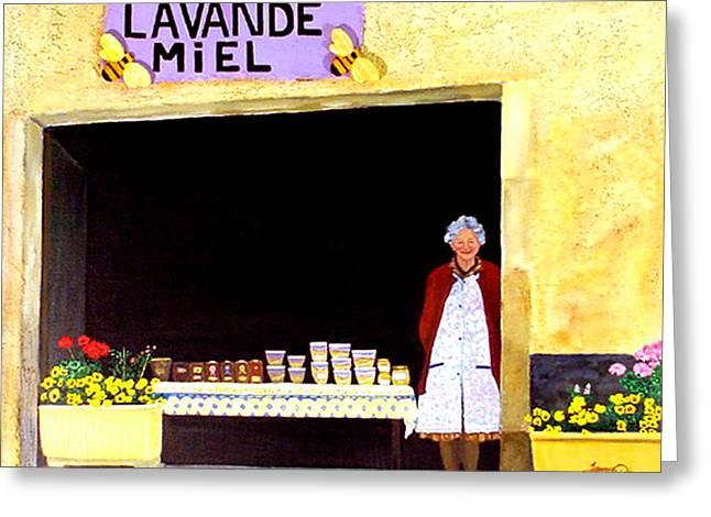 Provence Honey Shoppe Greeting Card