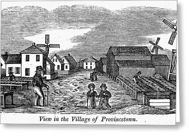 Provincetown, 1839 Greeting Card