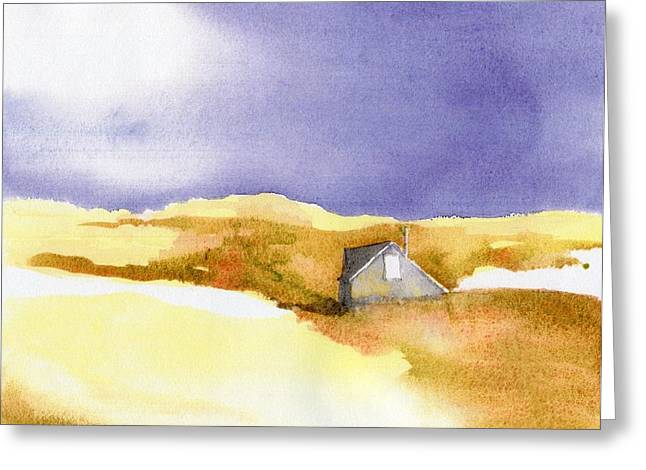 Provincetown Dune Shack Greeting Card by Joseph Gallant