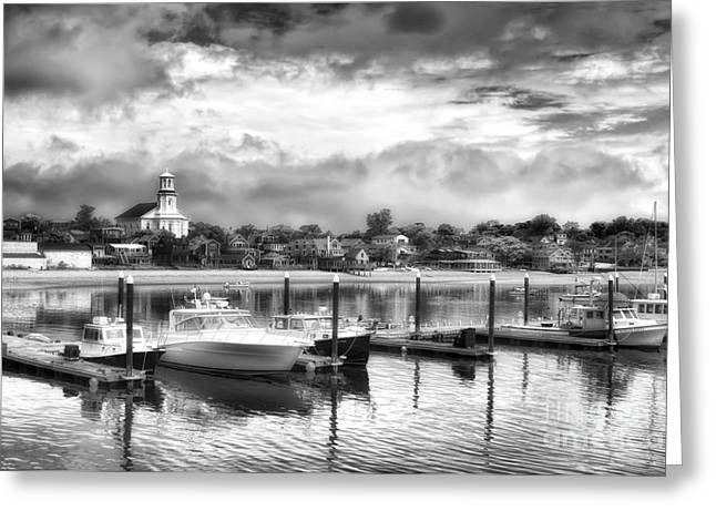 Provincetown Harbour View II Greeting Card