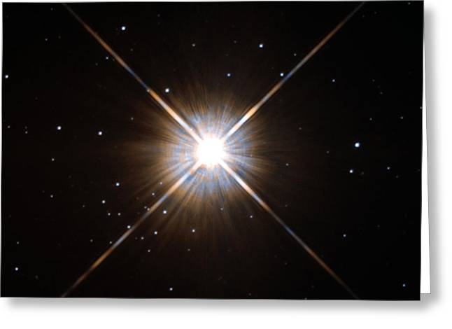 Proxima Centauri Greeting Card by Science Source