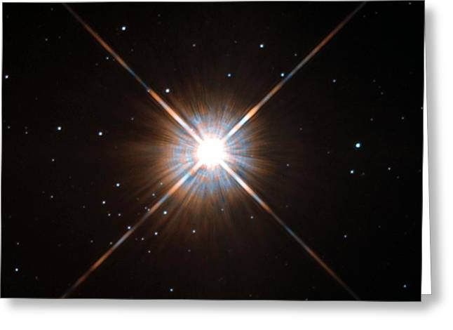 Proxima Centauri Star Greeting Card