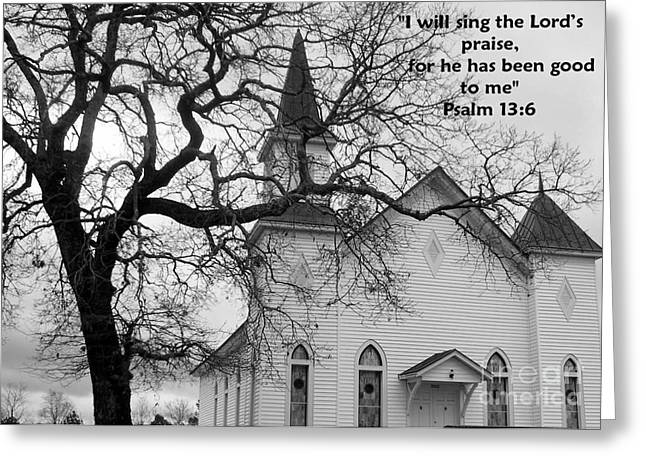 Psalm 13 Greeting Card by Andrea Anderegg