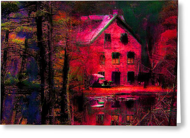 Psychedelic Mill Greeting Card