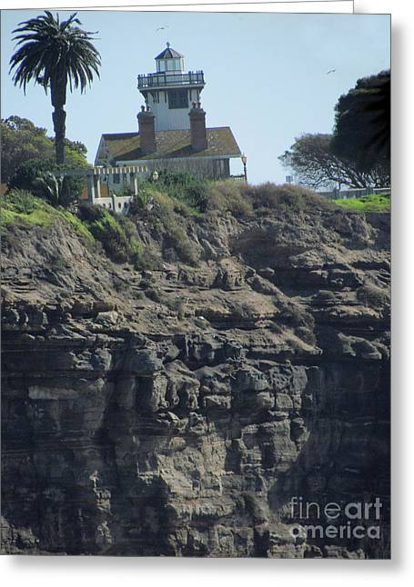 Pt. Fermin Lighthouse Greeting Card