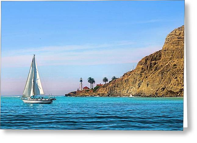 Pt Loma - San Diego Bay Greeting Card