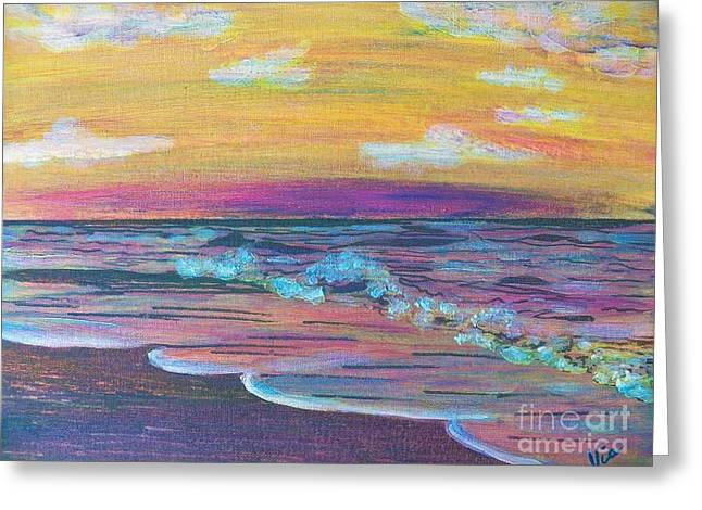 ptg  Sanibel Sunset Greeting Card