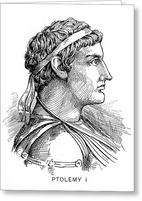 Ptolemy I (364?-283? B Greeting Card by Granger