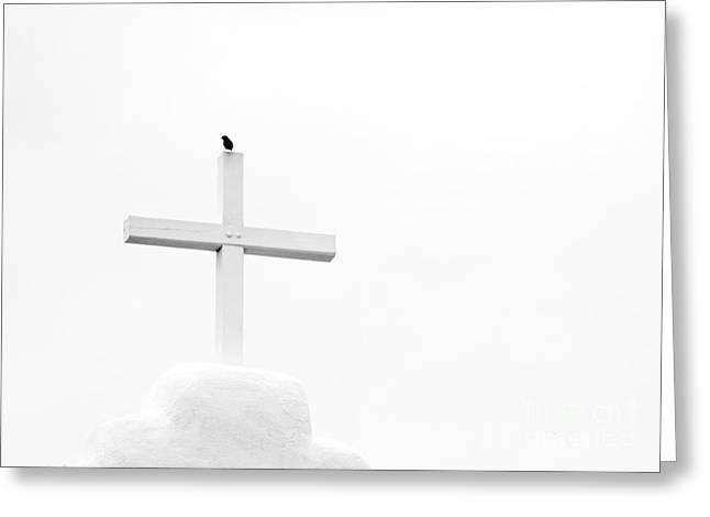 Pueblo Cross Greeting Card