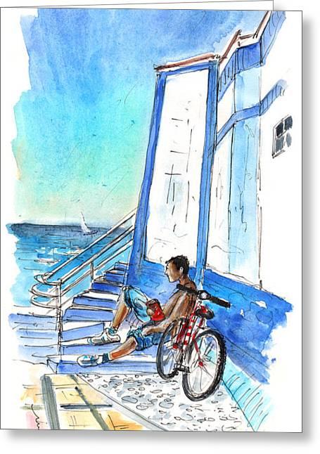 Puerto De Las Nieves 03 Greeting Card