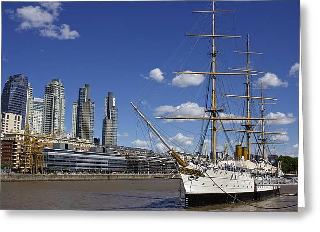Puerto Madero Buenos Aires Greeting Card