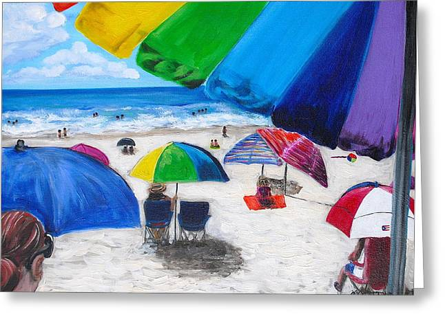 Puerto Rico Beach Greeting Card by Melissa Torres
