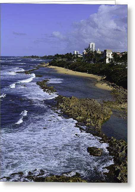 Puerto Rico Coastline Greeting Card