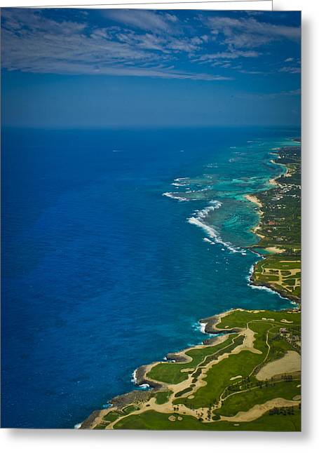 Puerto Rico Golf Course Greeting Card by Chelsea Stockton