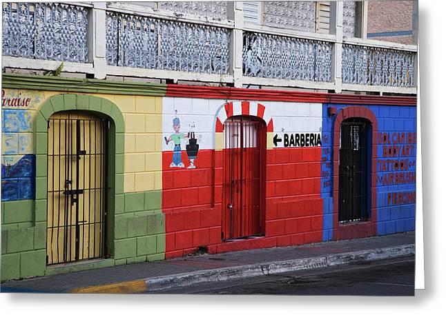 Puerto Rico, Vieques, Isabela Segunda Greeting Card by Jaynes Gallery