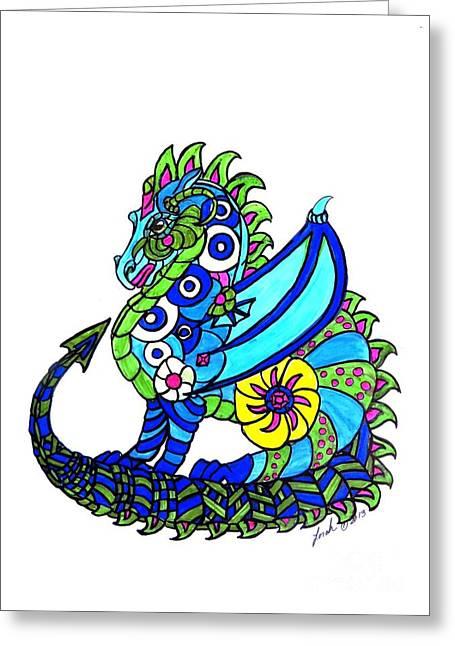 Puff The Magic Dragon Greeting Card