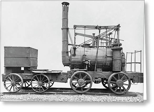 Puffing Billy Locomotive Greeting Card