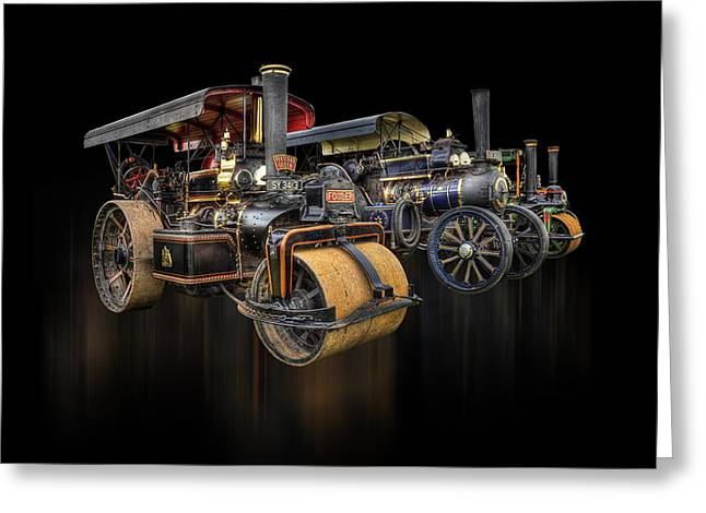 Greeting Card featuring the photograph Pulling Power  by Stewart Scott