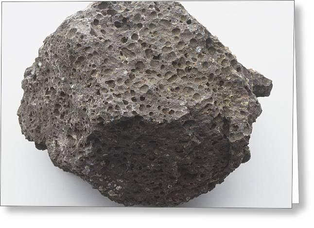 Pumice Rock Greeting Card by Dorling Kindersley/uig