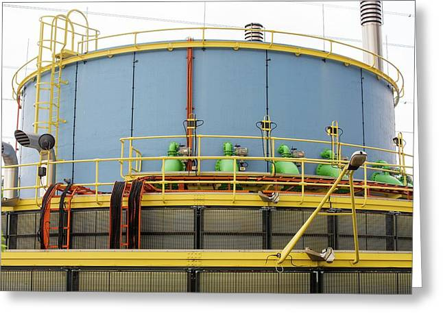 Pumping Station Greeting Card by Ashley Cooper