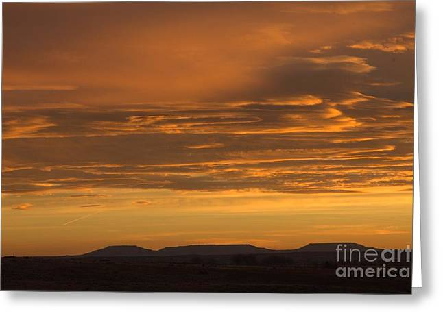 Pumpkin Buttes At Sunrise Greeting Card