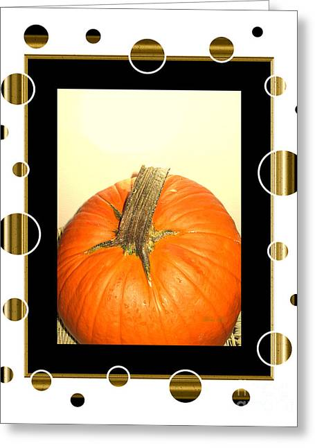 Pumpkin Card Greeting Card