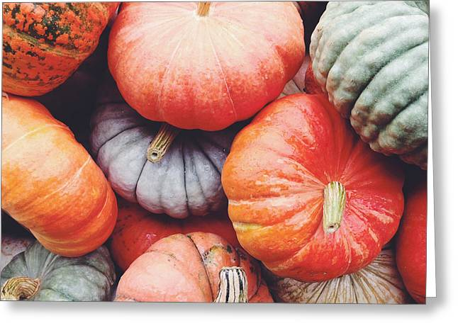 Greeting Card featuring the photograph Pumpkins Galore by Kim Fearheiley