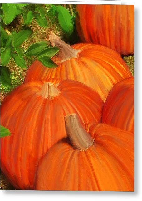 Pumpkins Pumpkins Everywhere Greeting Card
