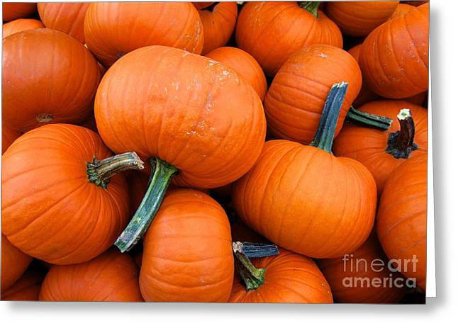 Greeting Card featuring the photograph Pumpkins  by Sarah Mullin