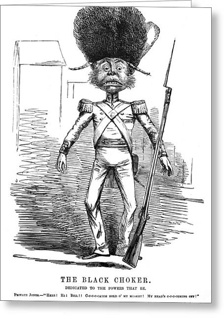 Punch British Soldier Greeting Card by Granger