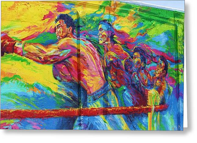 Punch Greeting Card by Chuck  Hicks