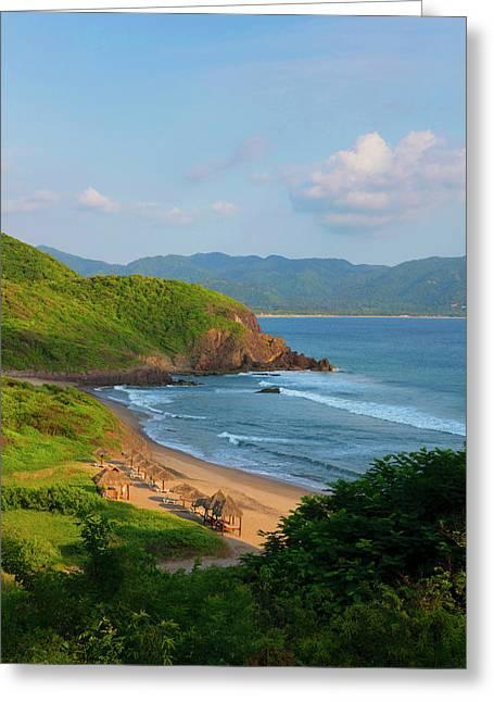 Punta Serena Villas And Spa Greeting Card by Douglas Peebles