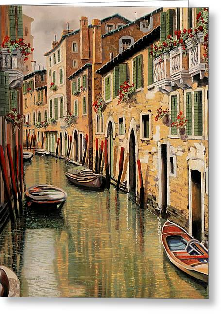Punte Rosse A Venezia Greeting Card