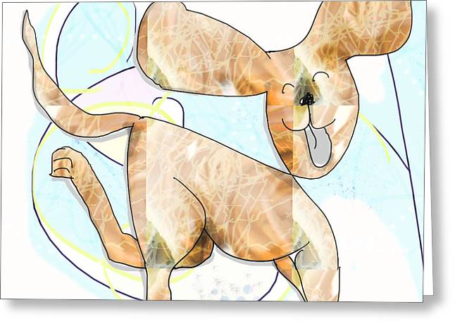 Pup Greeting Card