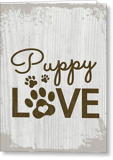 Puppy Love Greeting Card