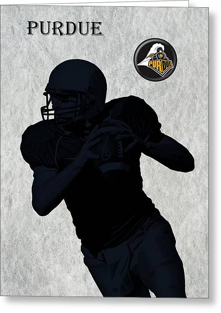 Purdue Football Greeting Card by David Dehner