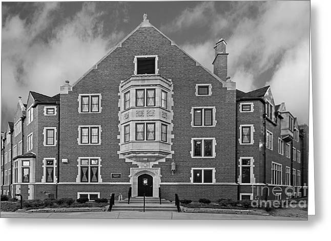 Purdue University Duhme Residence Hall Greeting Card by University Icons