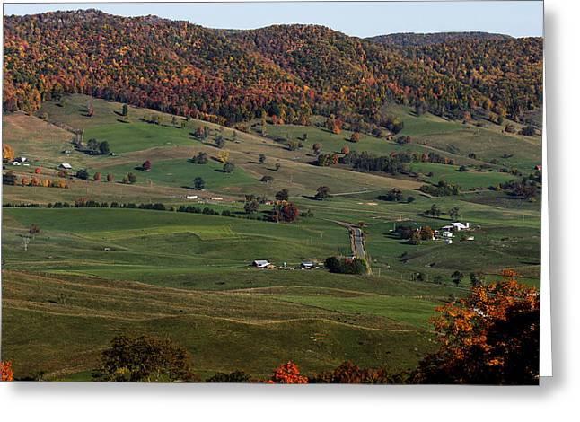 Greeting Card featuring the photograph Pure Country by David Lester