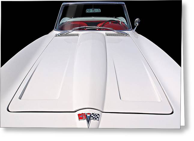 Pure Enjoyment - 1964 Corvette Stingray Greeting Card
