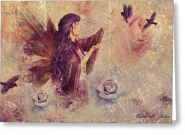 Purple Fairy Greeting Card